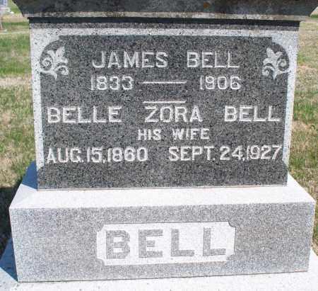BELL, BELLE ZORA - Montgomery County, Kansas | BELLE ZORA BELL - Kansas Gravestone Photos