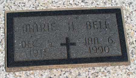 BELL, MARIE H. - Montgomery County, Kansas   MARIE H. BELL - Kansas Gravestone Photos