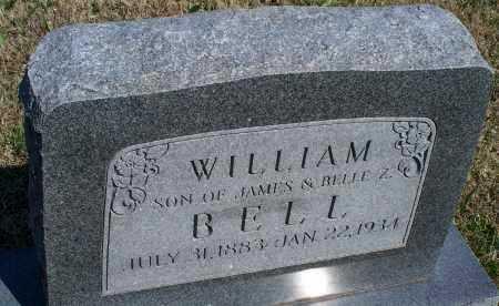 BELL, WILLIAM - Montgomery County, Kansas | WILLIAM BELL - Kansas Gravestone Photos