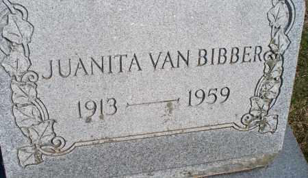 BIBBER, JUANITA VAN - Montgomery County, Kansas | JUANITA VAN BIBBER - Kansas Gravestone Photos