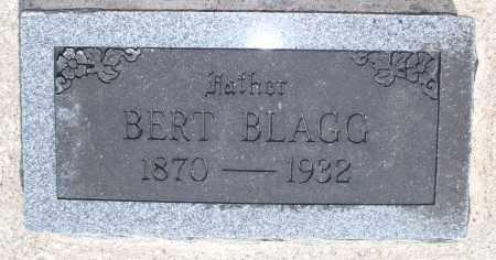 BLAGG, BERT - Montgomery County, Kansas | BERT BLAGG - Kansas Gravestone Photos