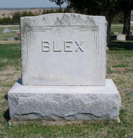 BLEX FAMILY STONE,  - Montgomery County, Kansas |  BLEX FAMILY STONE - Kansas Gravestone Photos