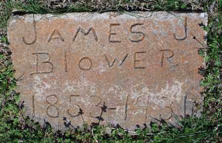 BLOWER, JAMES J - Montgomery County, Kansas   JAMES J BLOWER - Kansas Gravestone Photos