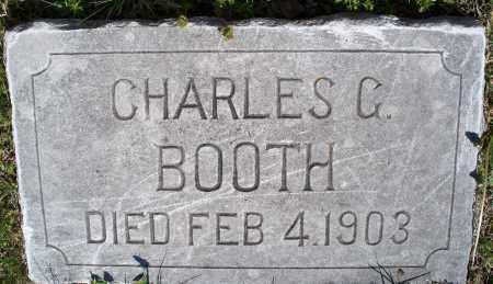 BOOTH, CHARLES G. - Montgomery County, Kansas | CHARLES G. BOOTH - Kansas Gravestone Photos