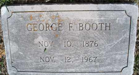 BOOTH, GEORGE F. - Montgomery County, Kansas | GEORGE F. BOOTH - Kansas Gravestone Photos