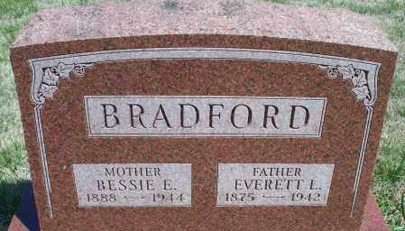 BRADFORD, BESSIE E. - Montgomery County, Kansas   BESSIE E. BRADFORD - Kansas Gravestone Photos
