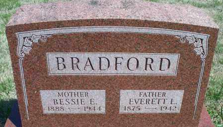 BRADFORD, BESSIE E - Montgomery County, Kansas | BESSIE E BRADFORD - Kansas Gravestone Photos