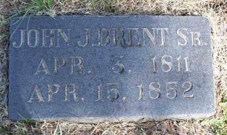 BRENT, JOHN J. SR. - Montgomery County, Kansas | JOHN J. SR. BRENT - Kansas Gravestone Photos