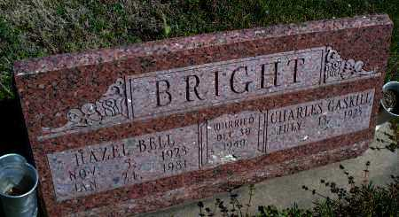 BRIGHT, HAZEL BELL - Montgomery County, Kansas | HAZEL BELL BRIGHT - Kansas Gravestone Photos
