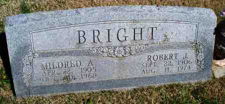 BRIGHT, ROBERT J. - Montgomery County, Kansas | ROBERT J. BRIGHT - Kansas Gravestone Photos