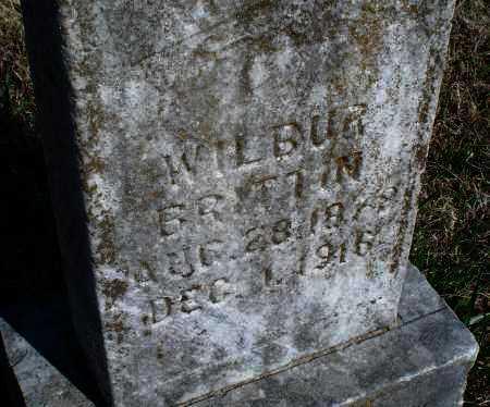BRITTIN, WILBUR - Montgomery County, Kansas   WILBUR BRITTIN - Kansas Gravestone Photos
