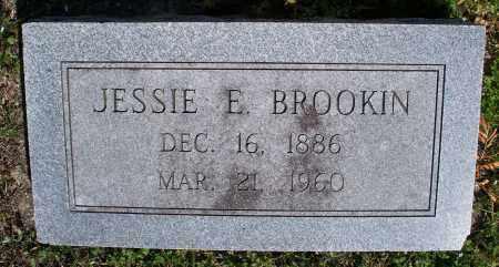BROOKIN, JESSIE E - Montgomery County, Kansas | JESSIE E BROOKIN - Kansas Gravestone Photos