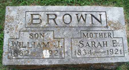 BROWN, WILLIAM J. - Montgomery County, Kansas | WILLIAM J. BROWN - Kansas Gravestone Photos