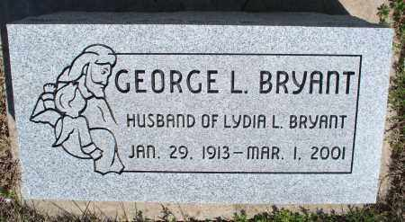 BRYANT, GEORGE L - Montgomery County, Kansas   GEORGE L BRYANT - Kansas Gravestone Photos