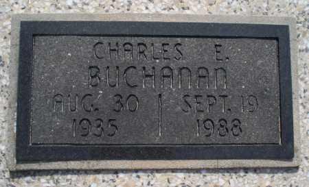 BUCHANAN, CHARLES E. - Montgomery County, Kansas | CHARLES E. BUCHANAN - Kansas Gravestone Photos