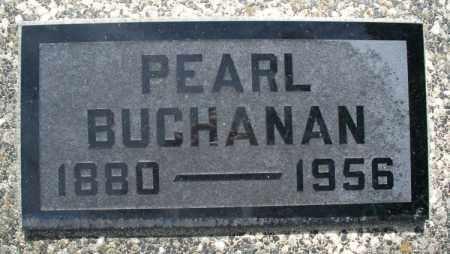 BUCHANAN, PEARL - Montgomery County, Kansas   PEARL BUCHANAN - Kansas Gravestone Photos