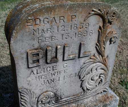 BULL, ALICE G. - Montgomery County, Kansas   ALICE G. BULL - Kansas Gravestone Photos