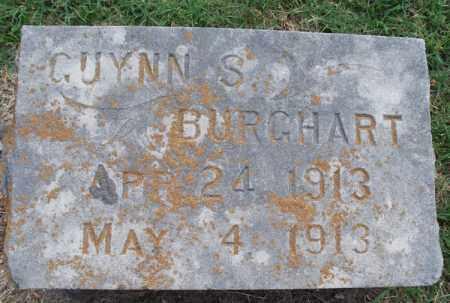 BURGHART, GUYNN S - Montgomery County, Kansas | GUYNN S BURGHART - Kansas Gravestone Photos