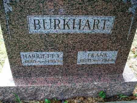 BURKHART, FRANK - Montgomery County, Kansas | FRANK BURKHART - Kansas Gravestone Photos