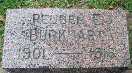 BURKHART, REUBEN E - Montgomery County, Kansas | REUBEN E BURKHART - Kansas Gravestone Photos