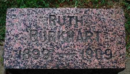 BURKHART, RUTH - Montgomery County, Kansas | RUTH BURKHART - Kansas Gravestone Photos