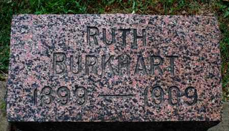BURKHART, RUTH - Montgomery County, Kansas   RUTH BURKHART - Kansas Gravestone Photos