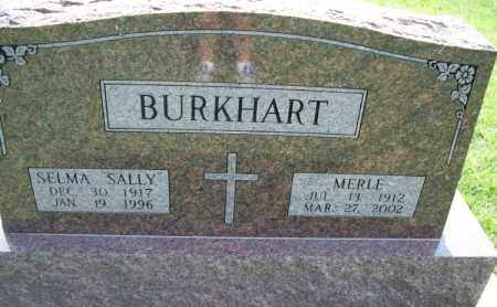 BURKHART, MERLE - Montgomery County, Kansas | MERLE BURKHART - Kansas Gravestone Photos