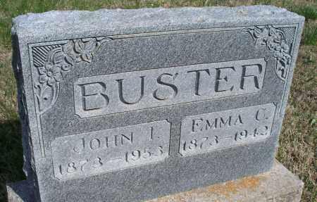 BUSTER, JOHN T. - Montgomery County, Kansas | JOHN T. BUSTER - Kansas Gravestone Photos