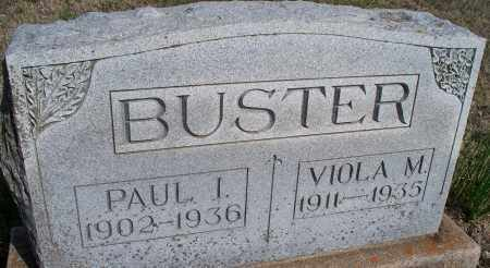 BUSTER, PAUL I. - Montgomery County, Kansas | PAUL I. BUSTER - Kansas Gravestone Photos