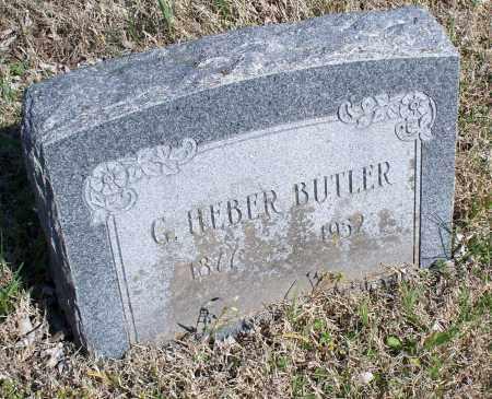 BUTLER, G. HEBER - Montgomery County, Kansas | G. HEBER BUTLER - Kansas Gravestone Photos