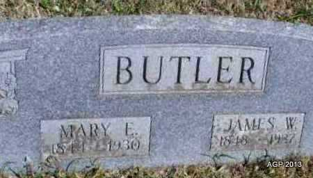 BUTLER, JAMES W - Montgomery County, Kansas | JAMES W BUTLER - Kansas Gravestone Photos