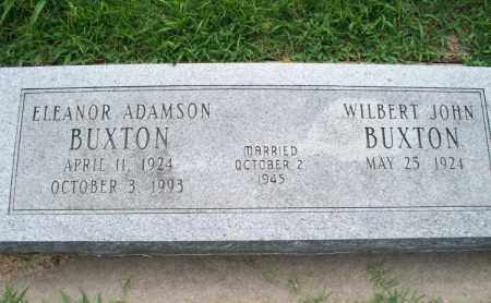 ADAMSON BUXTON, ELEANOR - Montgomery County, Kansas | ELEANOR ADAMSON BUXTON - Kansas Gravestone Photos