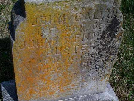 CALVIN, JOHN - Montgomery County, Kansas | JOHN CALVIN - Kansas Gravestone Photos