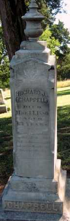 CHAPPELL, RICHARD J - Montgomery County, Kansas | RICHARD J CHAPPELL - Kansas Gravestone Photos