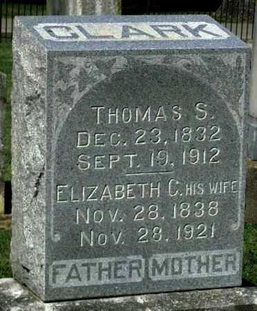CLARK, ELIZABETH C - Montgomery County, Kansas | ELIZABETH C CLARK - Kansas Gravestone Photos