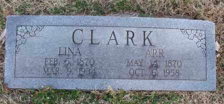 CLARK, LINA - Montgomery County, Kansas | LINA CLARK - Kansas Gravestone Photos