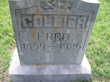 COLLIER, FRED - Montgomery County, Kansas | FRED COLLIER - Kansas Gravestone Photos