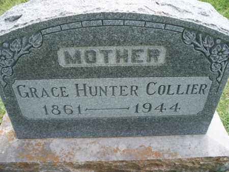 HUNTER COLLIER, GRACE - Montgomery County, Kansas | GRACE HUNTER COLLIER - Kansas Gravestone Photos