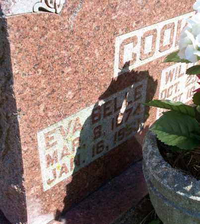 COOK, EVA BELLE - Montgomery County, Kansas   EVA BELLE COOK - Kansas Gravestone Photos