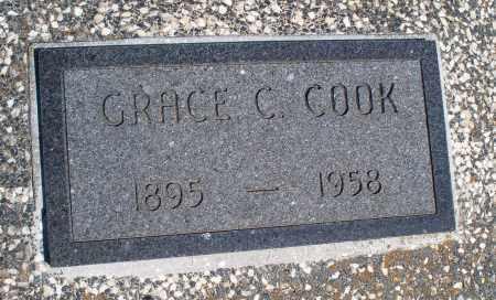 COOK, GRACE C. - Montgomery County, Kansas | GRACE C. COOK - Kansas Gravestone Photos