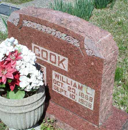 COOK, WILLIAM L. - Montgomery County, Kansas | WILLIAM L. COOK - Kansas Gravestone Photos