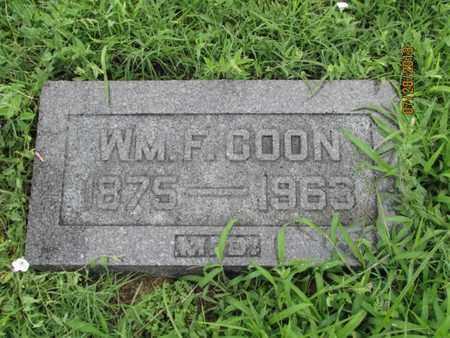 COON, WILLIAM F - Montgomery County, Kansas | WILLIAM F COON - Kansas Gravestone Photos