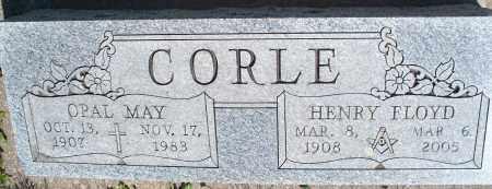 CORLE, OPAL MAY - Montgomery County, Kansas | OPAL MAY CORLE - Kansas Gravestone Photos