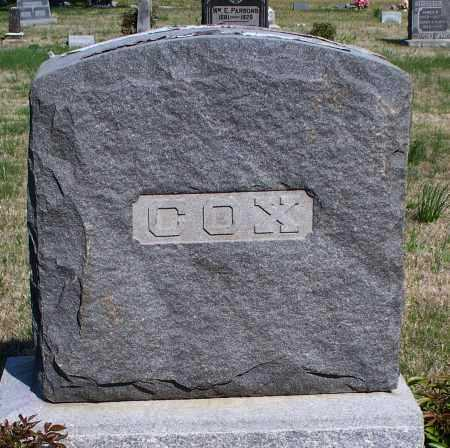 COX FAMILY STONE,  - Montgomery County, Kansas |  COX FAMILY STONE - Kansas Gravestone Photos