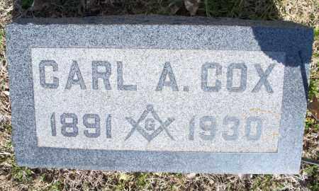 COX, CARL A - Montgomery County, Kansas | CARL A COX - Kansas Gravestone Photos