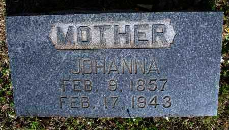 COX, JOHANNA - Montgomery County, Kansas | JOHANNA COX - Kansas Gravestone Photos