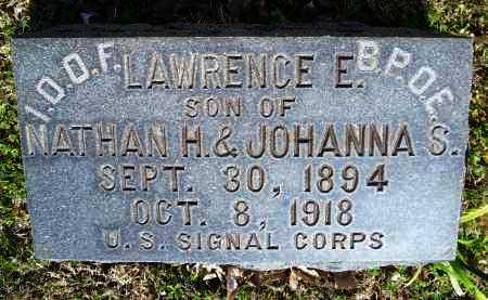COX, LAWRENCE E  (VETERAN WWI) - Montgomery County, Kansas | LAWRENCE E  (VETERAN WWI) COX - Kansas Gravestone Photos
