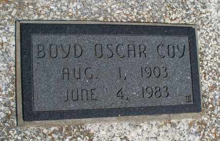 COY, BOYD OSCAR - Montgomery County, Kansas | BOYD OSCAR COY - Kansas Gravestone Photos