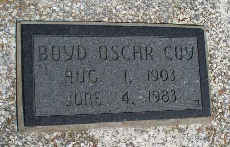 COY, BOYD OSCAR - Montgomery County, Kansas   BOYD OSCAR COY - Kansas Gravestone Photos