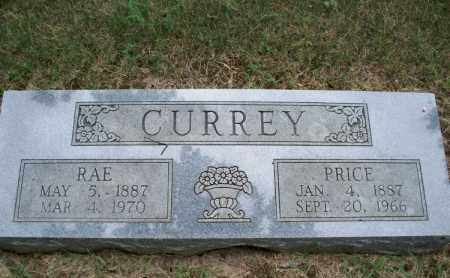 CURREY, RAE - Montgomery County, Kansas | RAE CURREY - Kansas Gravestone Photos